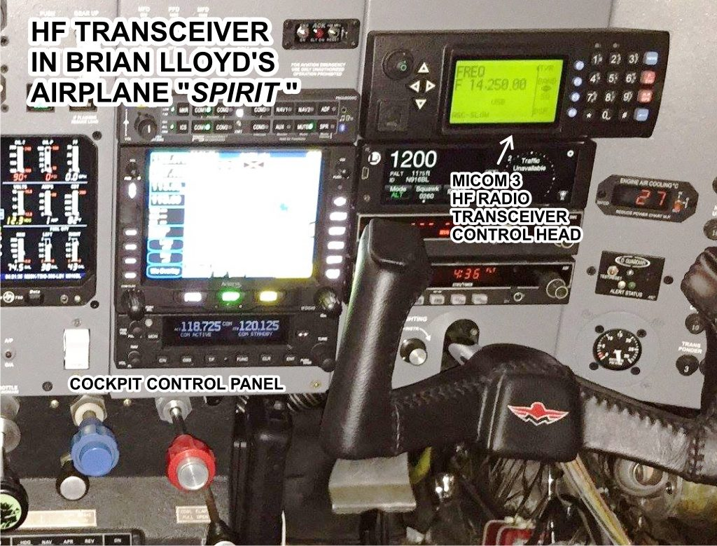 Words... super, amateur radio on airplanes canada are