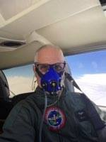 Brian Lloyd in airplane Spirit on 21 May 2017 at 20000ft over USA Photo by Brian Lloyd