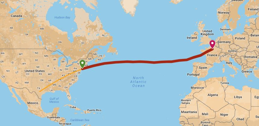 Ham radio aviator attempts new york to paris speed record for New york to paris flights