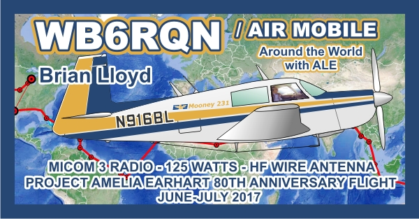 Ham Radio WB6RQN Air Mobile