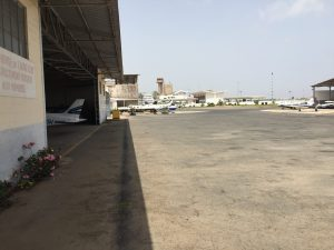 Aero Club de Dakar hangar Senegal 10Jun2017 photo ©2017 Brian Lloyd CC-BY
