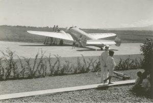 Amelia Earhart Lockheed Electra 10E in Khartoum June1937