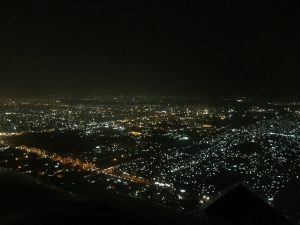 Flight over Khartoum at night 12Jun2017 photo by Brian Lloyd