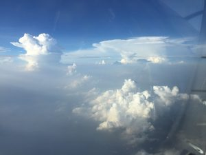 High top thunderstorms over India 16Jun2017 photo ©2017 Brian Lloyd CC-BY 2.0