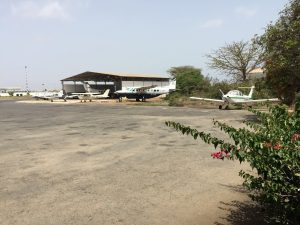 Planes at Aero Club de Dakar hangar Senegal 10Jun2017 photo ©2017 Brian Lloyd CC-BY