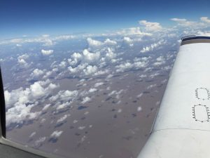 Spirit wing in flight over the mouth of the Amazon River 4Jun2017. photo (c)2017 Brian Lloyd