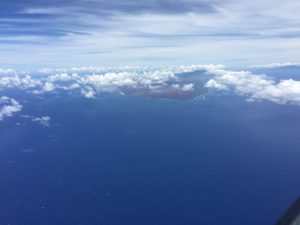 West end of Molokai island from Spirit on 27 July ©2017 Brian Lloyd